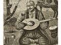 Гайдамака, що грає на бандурі