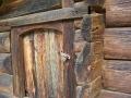 Двері гуцульської хати. ХІХ ст. НМНАПУ