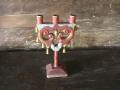 Гуцульський свічник-''трІйця''