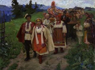 Галина Зубченко. Гуцульське весілля