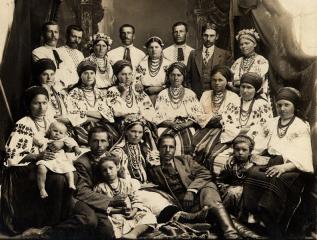 Громадяни с.Лип'янки. 1914 р.