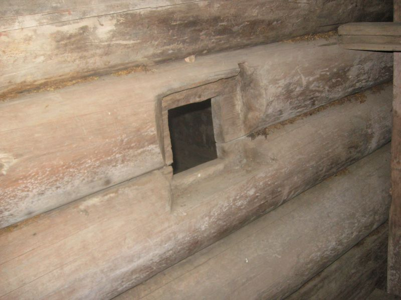 Фото 34. Вікно з притули до хати
