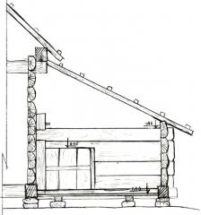 Мал.5. Зрубна перегородка