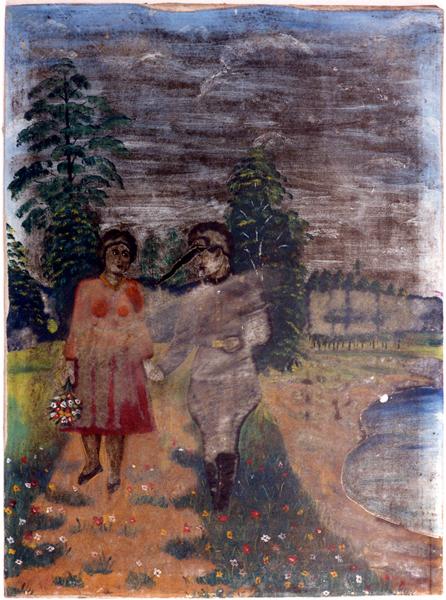 Солдат з дівчиною. Ж-12