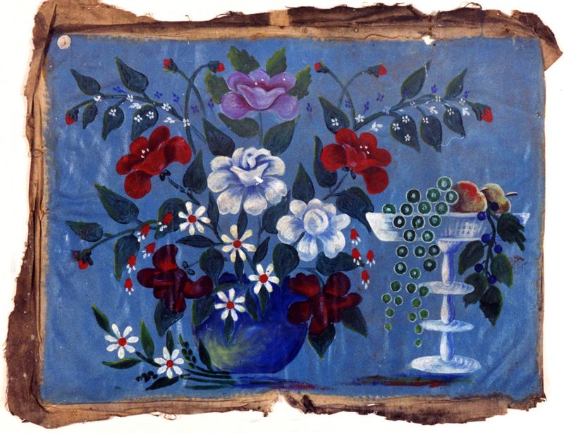 Натюрморт з квітами. Ж-25
