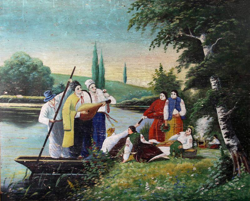 Молодь біля річки. Сер. ХХ ст.