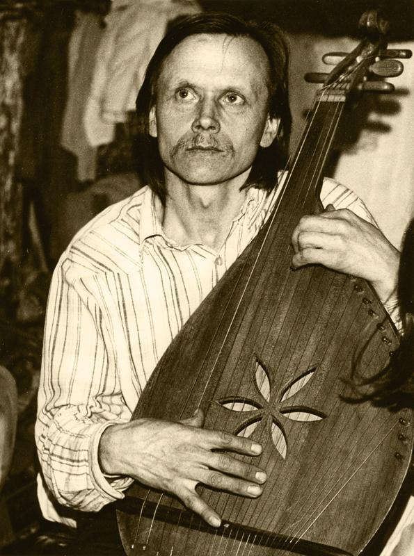 Микола Будник. Фото 1980-х років