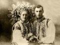 Весільна пара з Покуття. 1933 р.