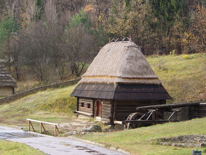 Фото 1. Млин кін.19 ст. з Бойківщини, НМНАПУ