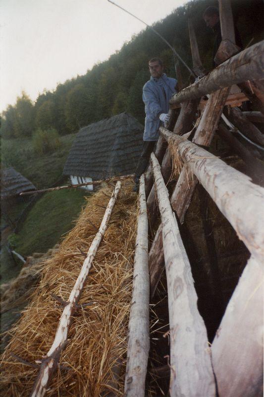Фото 3. Фрагмент даху млина, НМНАПУ