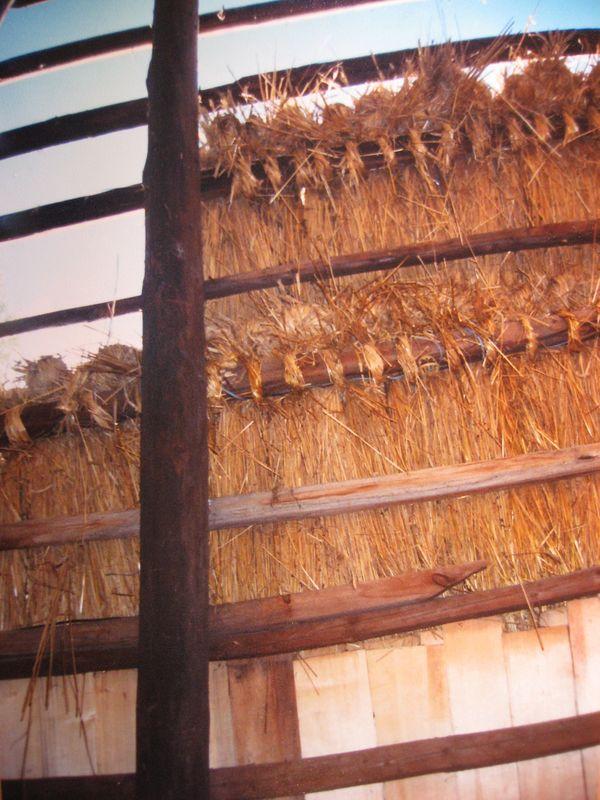 Фото 5. Фрагмент даху млина, НМНАПУ