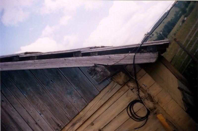Фото 10. Стайня, покрита в щир