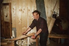 Фото 28. Обробка драниці вісним ножем
