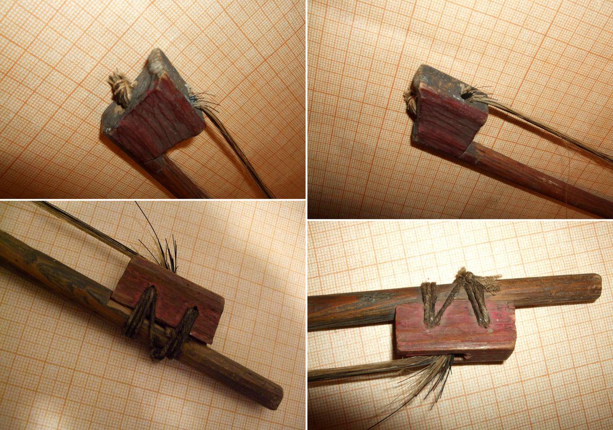 Смичок до скрипки-довбанки, сер.20 ст. МІ-305