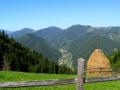 Краєвид на Бережницю з гори Довбушєнки